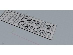 Parallel garden - logo