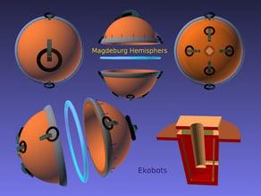 Ekobots - Magdeburg Hemisphers