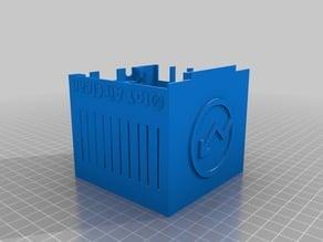 IoT AirClean Cube Case (Server + Sensor)