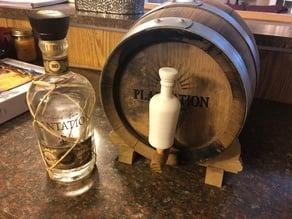 Plantation Rum Bottle Replica (Spigot Deco)