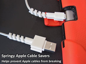 Springy Apple Cable Savers