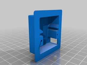 Wing Servo Box and Cover for MG90S