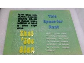 Print Text on Fabric