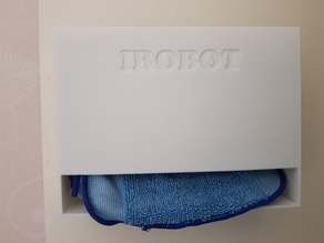 Irobot Braava cloth holder