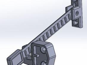 tilt turn window, opening limiter / restrictor