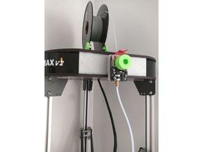 Rostock Max V2 extruder vertical plate mount