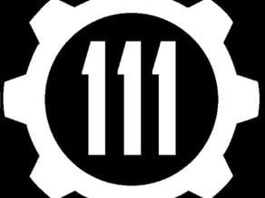 Decal - Fallout 4 Vault 111