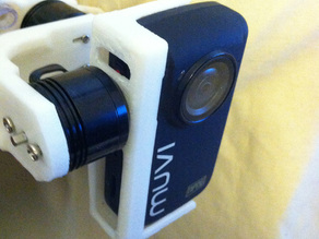 Veho MUVI NPNG Camera Holder for TBS Discovery Brushless Gimbal