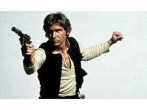 Han Solo lithophane