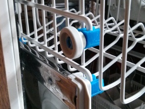 DIshwasher top tray axle