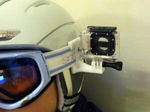Ski goggle GOPRO holder