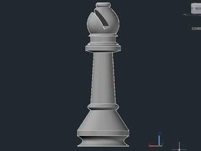 Bishop Chess Piece or Bishop Card Holder
