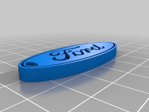 Keychain with Ford logo