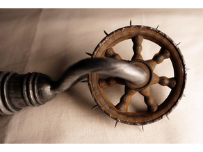 """""""Medieval Style"""" Wartenberg- / Pinwheel"""