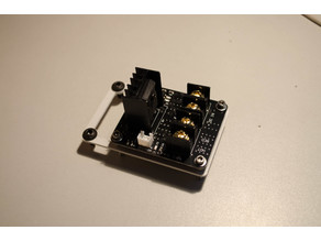 MOSFET Mount for aluminum extrusion frame