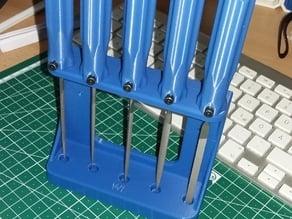 Needle File Stand / Nadelfeilenständer