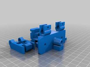 Bowden Extruder M8 Clamp