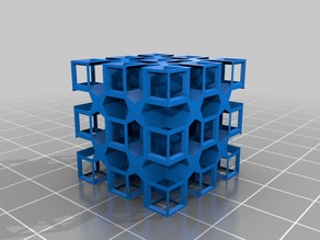 Only a Test - A Cube testing a Cut Pattern