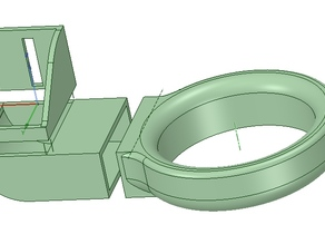 Snap-Fit Fan Duct (Remix) for Centrifugal Fan