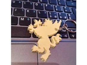 gryphon keychain