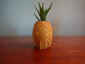 Spongebob's House Plant Pot