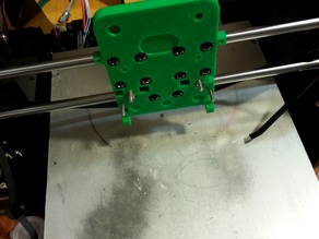 Itty Bitty Double Extruder Flex V2 Updates for Hictop Prusa  i3