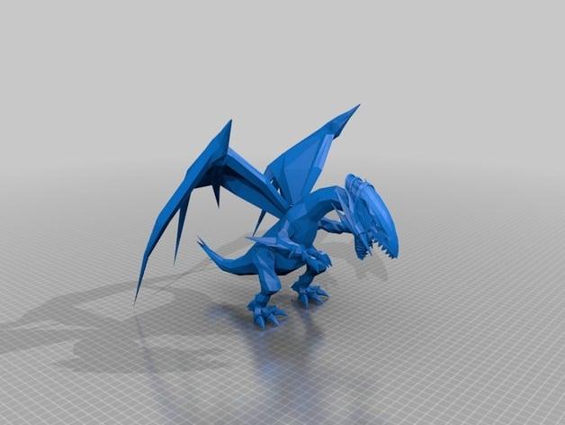 blau Blankowürfel 20mm