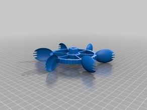 Fancy Sporked Wheel for Multi-terrain Robots