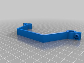 Parametric mounting bar for multicopter