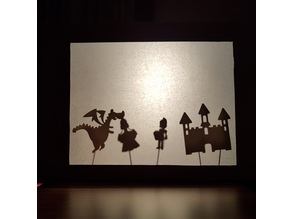 Shadow Puppet Theatre Figures #1