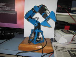Robot Arm For AX-12A Dynamixel Actuators