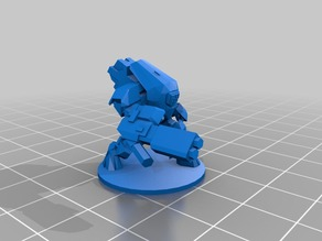 15mm Scale Tau Stealth Suit