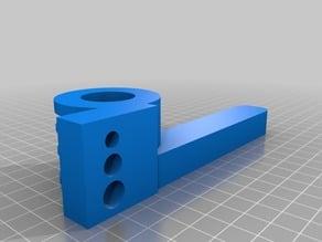 Heatpipe bender 10.5mm dia, 23mm radius
