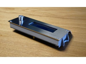 Smart LCD frame for Infinity X1 3DP