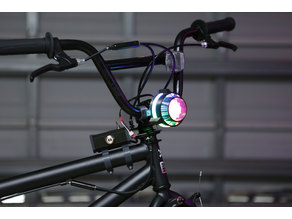 NeoPixel Bike Light