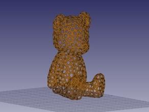 Voronoi Teddy Bear