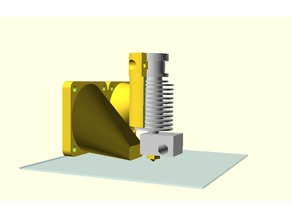 E3D Mount and fan duct for the MC²-Printer