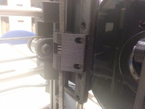 Solid Z-Axis Spring Holder for Lulzbot TAZ
