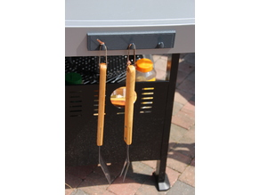porte accessoires barbecue - barbecue tool holder accessories