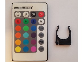 RGB battery holder for remote