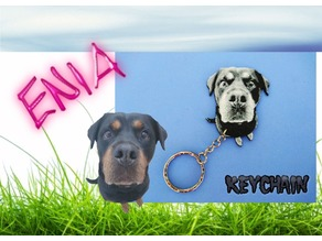 Rottweiler ENIA keychain