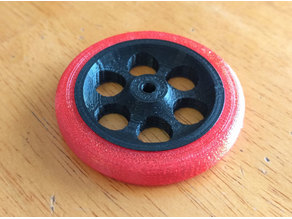 RC Airplane Wheel and Tire