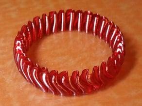 Reversible Wave Bracelet