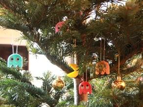 epic pacman xmas tree decorations