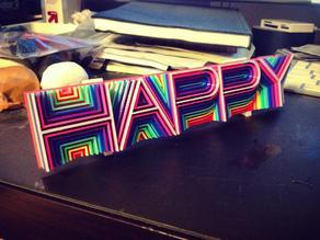 "Heatwave Type - ""Happy"""