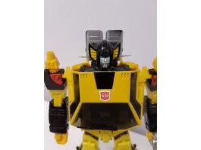 Transformers Omnigonix Spinout Chest Fix (MP Sunstreaker )