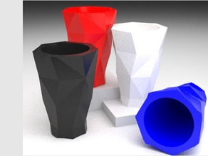 Low Poly Shot Glass 2.0