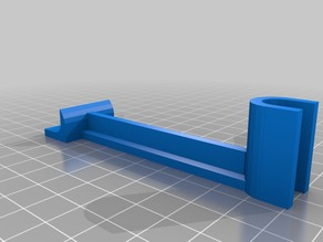 Customized Tool to level X-axis of Prusa i3 increased height