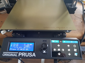 Prusa Mk3 LCD cover for 4 inch Hyperpixel touchscreen