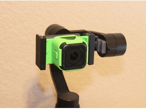 GoPro Session adapter for the Zhiyun-Tech Smooth-Q gimbal